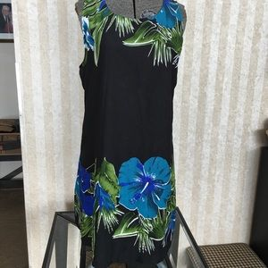 Flowered Shift Dress